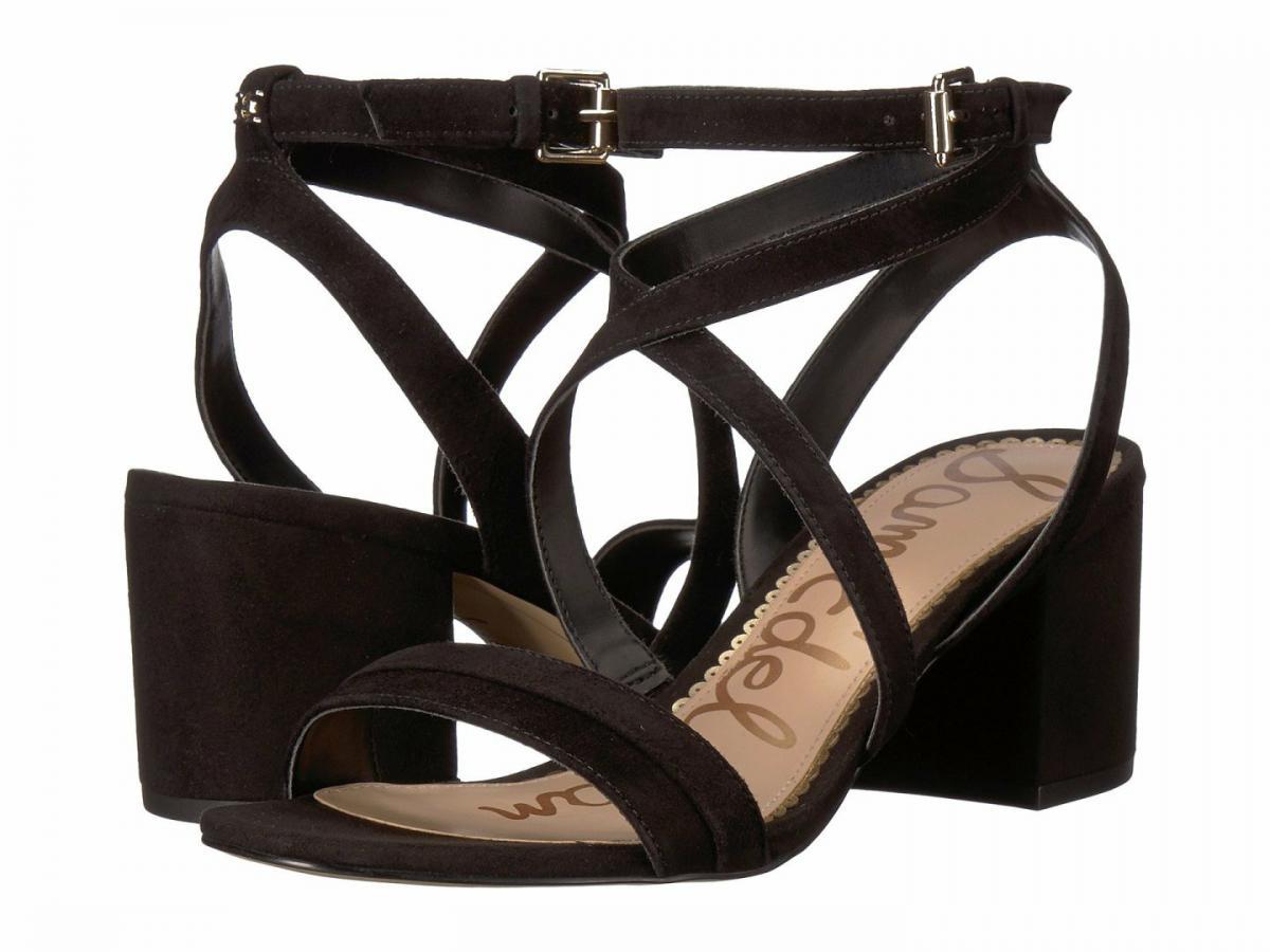 sam edelman sammy strappy suede sandals