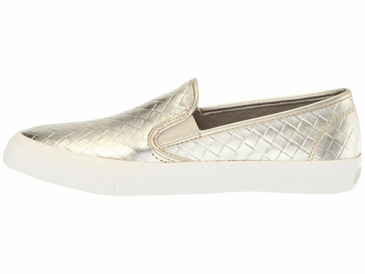 Seaside Emboss Weave Platinum